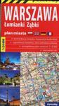 Warszawa foliowany plan miasta 1:26 000 w sklepie internetowym Booknet.net.pl
