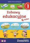 Domowa Akademia. Zabawy edukacyjne 4-latka cz.1 w sklepie internetowym Booknet.net.pl