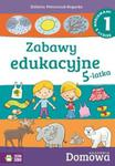 Domowa Akademia. Zabawy edukacyjne 5-latka cz.1 w sklepie internetowym Booknet.net.pl