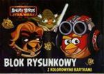 Blok rysunkowy A4 Angry Birds z kolorowymi kartkami 16 kartek w sklepie internetowym Booknet.net.pl