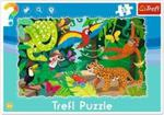 Puzzle 15 ramkowe - Las tropikalny w sklepie internetowym Booknet.net.pl