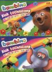 Blok techniczny A4 Bambino z kolorowymi kartkami 10 kartek 10 szuk mix w sklepie internetowym Booknet.net.pl