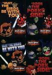 Zeszyt A5 Angry Birds Star Wars w kratkę 60 kartek 10 sztuk mix w sklepie internetowym Booknet.net.pl