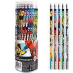 Ołówek z gumką 48 sztuk w tubie Transformers w sklepie internetowym Booknet.net.pl