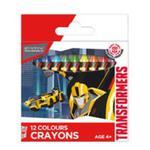 Kredki woskowe 12 kolorów Transformers w sklepie internetowym Booknet.net.pl