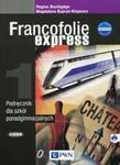 FRANCOFOLIE EXPRESS 1 Język francuski Podręcznik z płytą CD edycja 2015 w sklepie internetowym Booknet.net.pl
