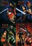 Zeszyt A5 Star Wars Rebels w kratkę 16 kartek 15 sztuk mix w sklepie internetowym Booknet.net.pl
