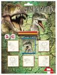 Pieczątki Blister 5 sztuk Dinozaur w sklepie internetowym Booknet.net.pl
