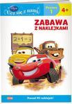 Disney Ucz się z nami Zabawa z naklejkami Auta 4+ w sklepie internetowym Booknet.net.pl
