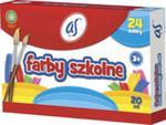 Farby szkolne AS 24 kolory - 20 ml w sklepie internetowym Booknet.net.pl