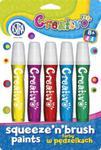 Farby w pędzelku 5 kolorów Creativo w sklepie internetowym Booknet.net.pl