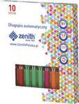 Długopis automatyczny Zenith 10 sztuk mix kolorów w sklepie internetowym Booknet.net.pl
