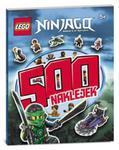LEGO NINJAGO 500 NAKLEJEK LBS-701 w sklepie internetowym Booknet.net.pl