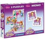 Puzzle 20+20+100 Memo Jej Wysokość Zosia w sklepie internetowym Booknet.net.pl