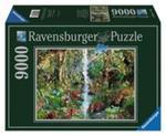 Puzzle Zwierzęta w dżungli 9000 w sklepie internetowym Booknet.net.pl