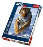Puzzle Śnieżny tygrys 500 w sklepie internetowym Booknet.net.pl