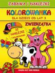 Kolorowanka dla dzieci od lat 3 Zwierzątka w sklepie internetowym Booknet.net.pl