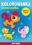 Kolorowanka Zwierzątka w sklepie internetowym Booknet.net.pl