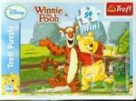 Puzzle mini 54 Kubuś Puchatek i przyjaciele w sklepie internetowym Booknet.net.pl