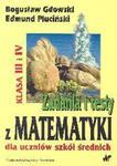 Zadania i testy z matematyki dla uczniów szkół średnich klasa III i IV w sklepie internetowym Booknet.net.pl