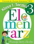 Elementarz.Poznaję litery i liczby.Klasa 1,Teczka 3. Ćwiczenia w sklepie internetowym Booknet.net.pl