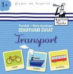Odkrywam świat Transport Książka + Karty obrazkowe w sklepie internetowym Booknet.net.pl