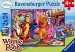Puzzle Disney Kubuś Puchatek i przyjaciele 2x24 w sklepie internetowym Booknet.net.pl