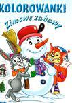 Kolorowanka. Zimowe zabawy. Zwierzątka w sklepie internetowym Booknet.net.pl