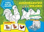 Twórz baw się koloruj Gospodarstwo wiejskie w sklepie internetowym Booknet.net.pl