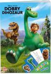 Dobry dinozaur. Kolorowanka i naklejki. DPN-20 w sklepie internetowym Booknet.net.pl