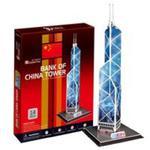 Puzzle 3D Wieżowiec Bank of China Tower 14 elementów w sklepie internetowym Booknet.net.pl
