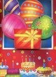Torebka ozdobna 3D duża urodzinowa balony w sklepie internetowym Booknet.net.pl