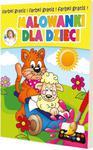 MALOWANKI DLA DZIECI +FARBY /64/2015 O-PRESS 9771234451159 w sklepie internetowym Booknet.net.pl