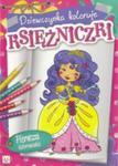 Dziewczynka koloruje Księżniczki w sklepie internetowym Booknet.net.pl