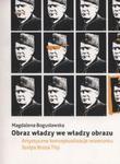 Obraz władzy we władzy obrazu w sklepie internetowym Booknet.net.pl