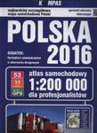 Atlas samochodowy Polska 2016 dla profesjonalistów 1:200 000 w sklepie internetowym Booknet.net.pl
