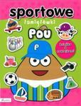 POU. Sportowe łamigłówki. Książka z naklejkami w sklepie internetowym Booknet.net.pl