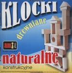 Klocki drewniane konstrukcjne naturalne w sklepie internetowym Booknet.net.pl