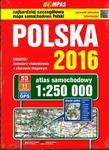 ATLAS SAM.-POLSKA 1:250 KOMPAS 2016 w sklepie internetowym Booknet.net.pl