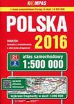 Polska 2016 Atlas samochodowy 1:500 000 w sklepie internetowym Booknet.net.pl