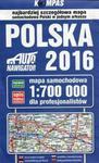 Polska 2016 Mapa samochodowa dla profesjonalistów 1:700 000 w sklepie internetowym Booknet.net.pl