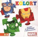 Avengers z puzzlami Kolory w sklepie internetowym Booknet.net.pl