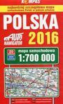 Polska 2016 Mapa samochodowa 1:700 000 w sklepie internetowym Booknet.net.pl
