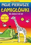 Moje pierwsze łamigłówki dla dzieci 5-6 lat w sklepie internetowym Booknet.net.pl