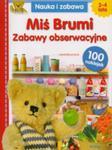 MIŚ BRUMI ZABAWY OBSERWACYJNE GRAFAG 9788365273000 w sklepie internetowym Booknet.net.pl