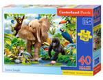 Puzzle Maxi: Junior Jungle 40 w sklepie internetowym Booknet.net.pl