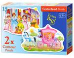 Puzzle The Princess Ball 2 w 1 w sklepie internetowym Booknet.net.pl