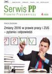 Zmiany 2016 w prawie pracy i ZUS pytania i odpowiedzi w sklepie internetowym Booknet.net.pl