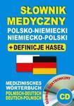Słownik medyczny polsko-niemiecki ? niemiecko-polski + definicje haseł + CD (słownik elektroniczny) w sklepie internetowym Booknet.net.pl
