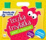 Pakiet Bawię się i uczę. Teczka 3-latka w sklepie internetowym Booknet.net.pl